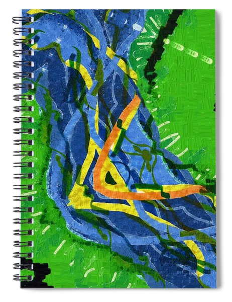 Freedom River Spiral Notebook