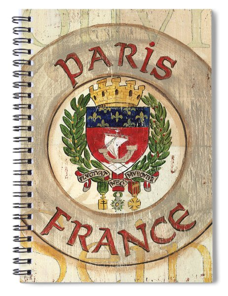 French Coat Of Arms Spiral Notebook