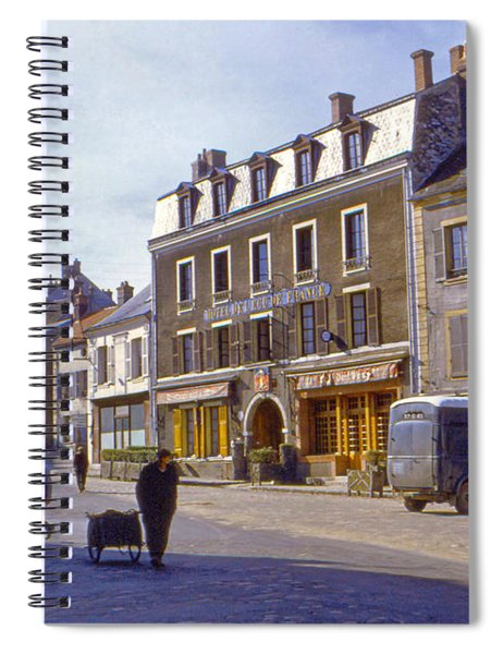 French Village Spiral Notebook