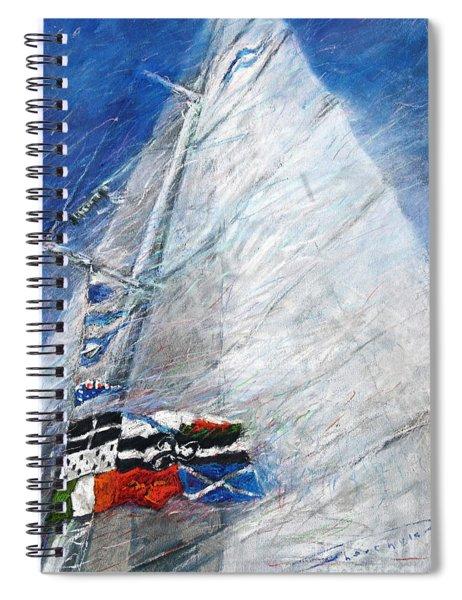 Fresh Breeze Spiral Notebook
