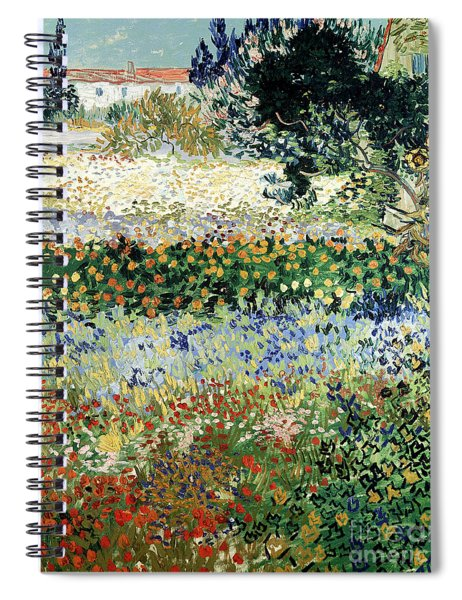 Garden In Bloom Spiral Notebook