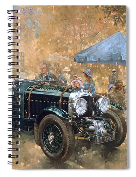 Garden Party With The Bentley Spiral Notebook