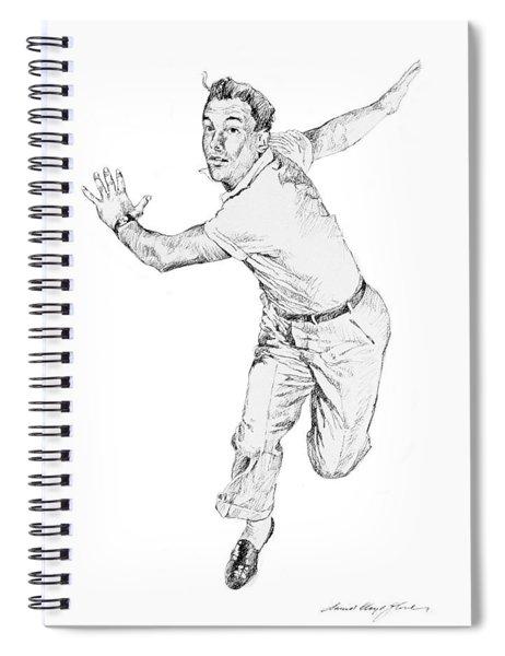 Gene Kelly Spiral Notebook