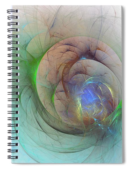 Gentle Trance Spiral Notebook