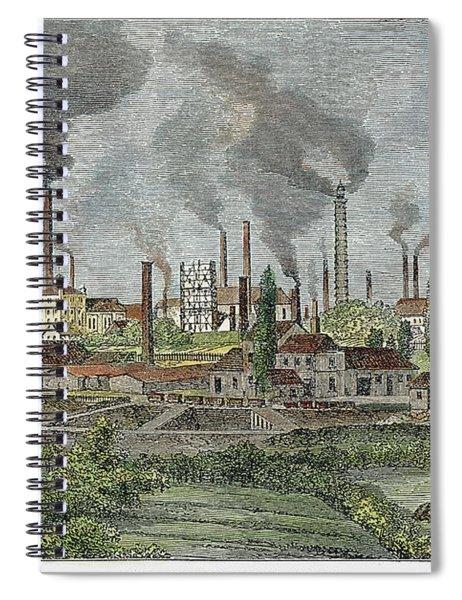 Germany: Krupp Works Spiral Notebook