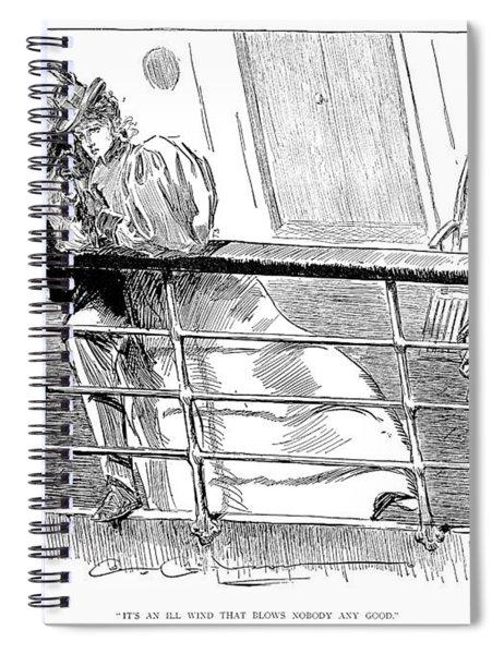 Gibson An Ill Wind, 1897 Spiral Notebook