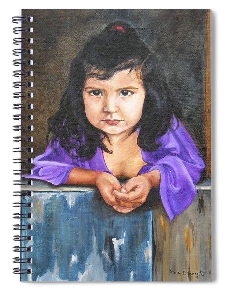Girl From San Luis Spiral Notebook