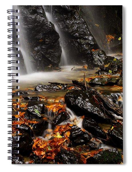 Glowing Spiral Notebook
