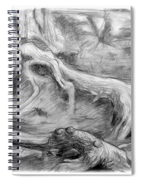 Gnarled Spiral Notebook