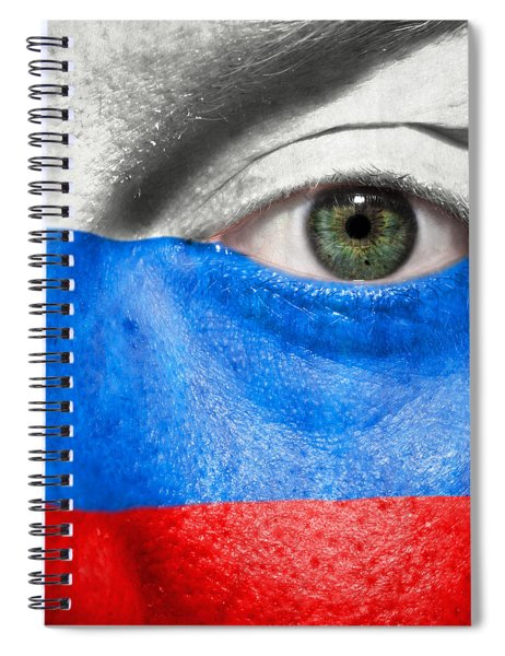 Go Russia Spiral Notebook