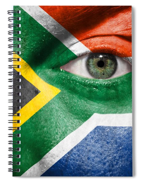 Go South Africa Spiral Notebook