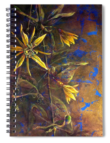 Gold Passions Spiral Notebook