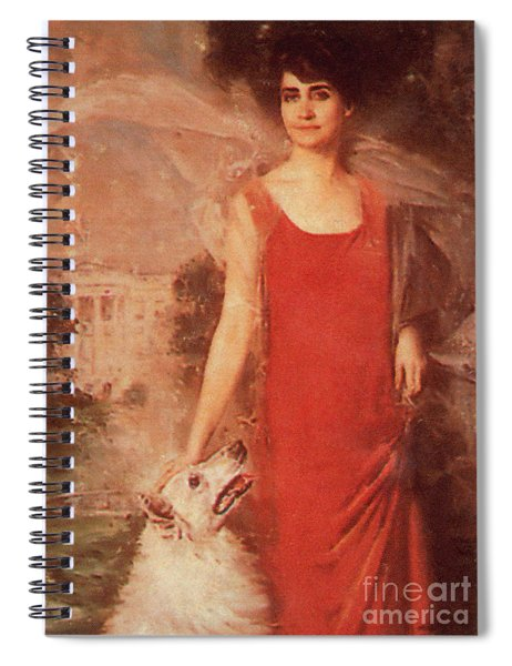 Grace Coolidge Spiral Notebook