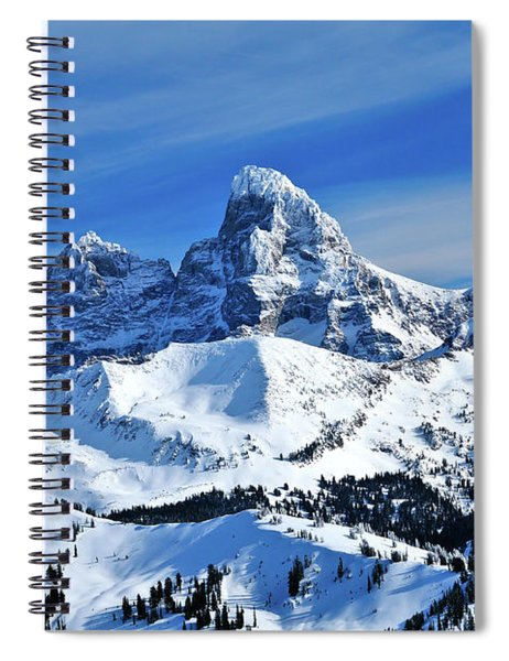 Grand Teton Winter Spiral Notebook