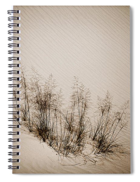 White Sands, New Mexico - Grasses Spiral Notebook