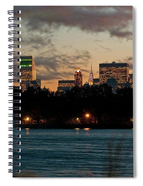 Great Pond Fountain Spiral Notebook