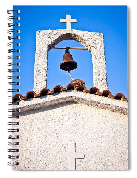 Greek Church Spiral Notebook by Tom Gowanlock
