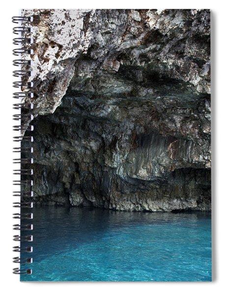 Green Cave In Hvar Spiral Notebook