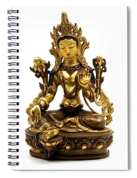 Green Tara Spiral Notebook