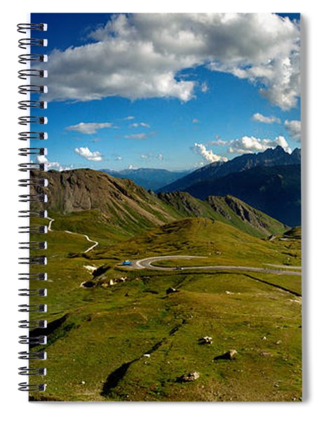 Grossglockner High Alpine Road Spiral Notebook