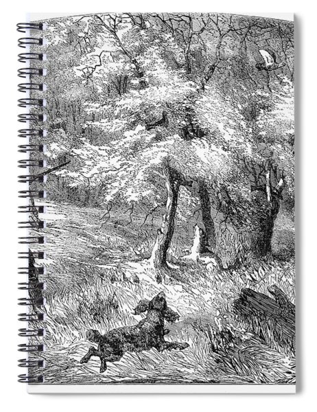 Grouse Hunting, 1855 Spiral Notebook