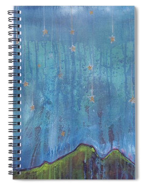 Hang Among The Stars Spiral Notebook
