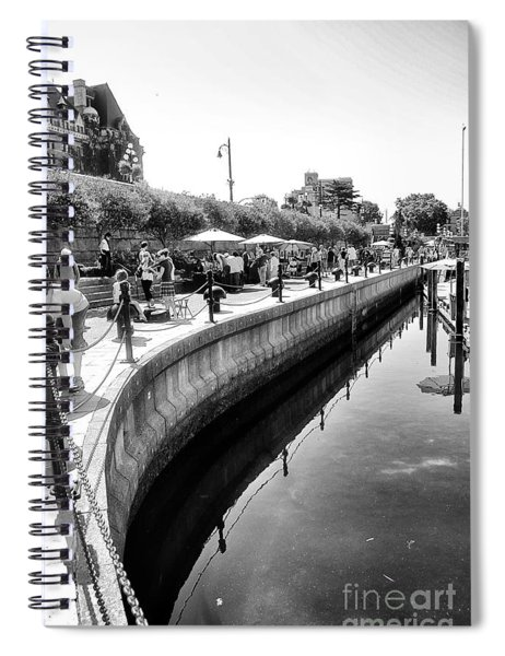 Hanging At The Harbor Spiral Notebook