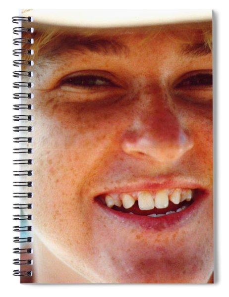 Happy Island Girl Spiral Notebook