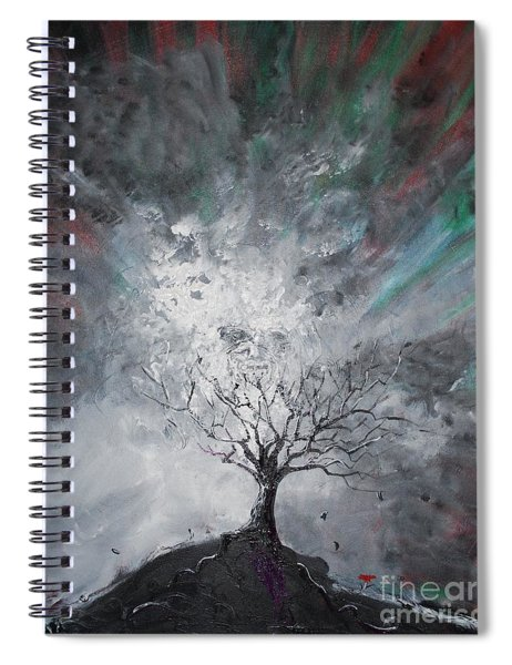 Haunted Tree Spiral Notebook
