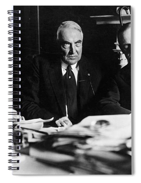 Hays, Harding, And Coolidge Spiral Notebook