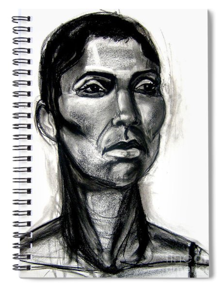 Head Study Spiral Notebook by Gabrielle Wilson-Sealy