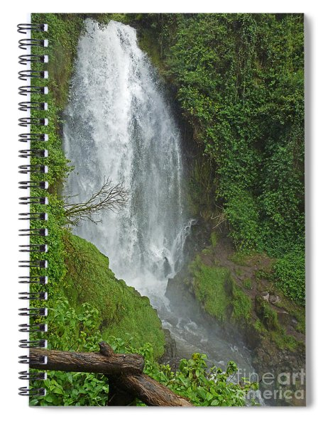Headwaters Peguche Falls Ecuador Spiral Notebook