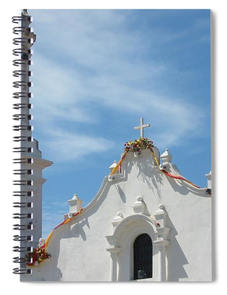 Heavenly Roofline Spiral Notebook