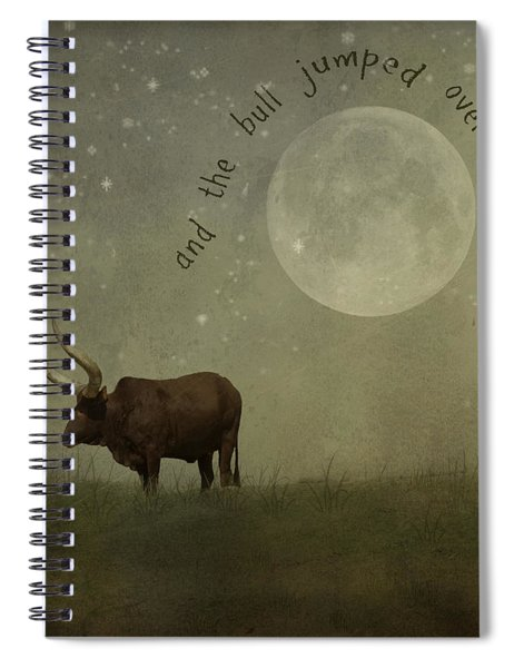 Hey Diddle Diddle  Spiral Notebook