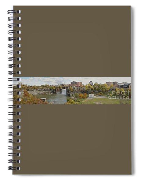 High Falls Panorama Spiral Notebook