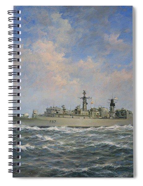 H.m.s. Chatham Type 22 - Batch 3 Spiral Notebook