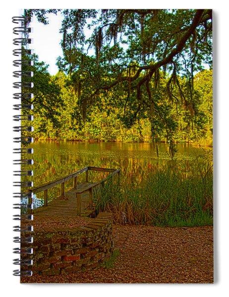 Hobcaw Barony Pond Spiral Notebook