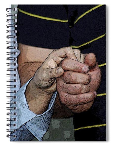 Holding Hands Spiral Notebook