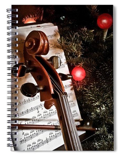 Albuquerque, New Mexico - Holiday Cello Spiral Notebook