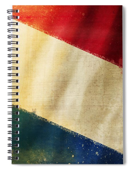 Holland Flag Spiral Notebook
