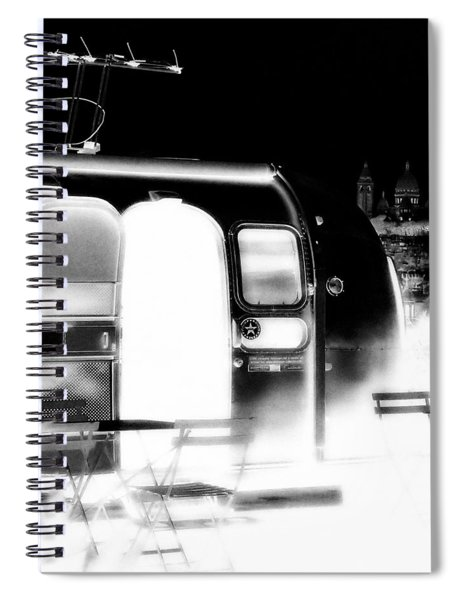 Holy Airstream Spiral Notebook