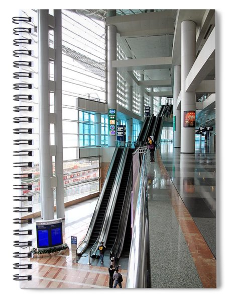 Hong Kong Convention And Exhibition Centre Spiral Notebook