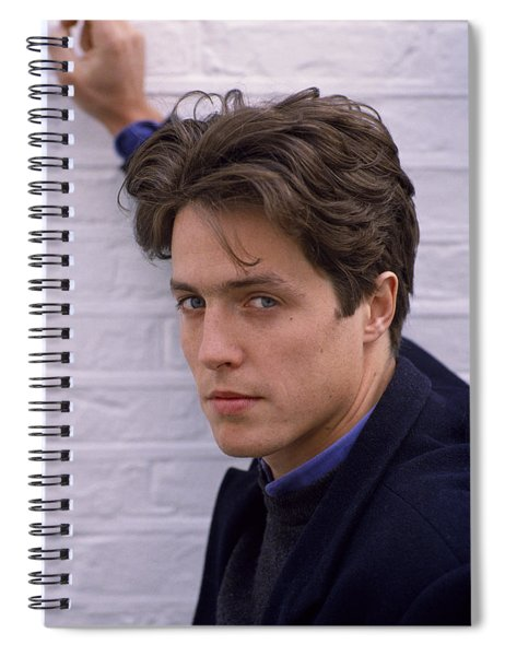 Hugh Grant Spiral Notebook