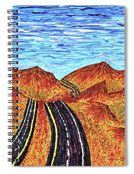 I - 15 Nevada To California Spiral Notebook