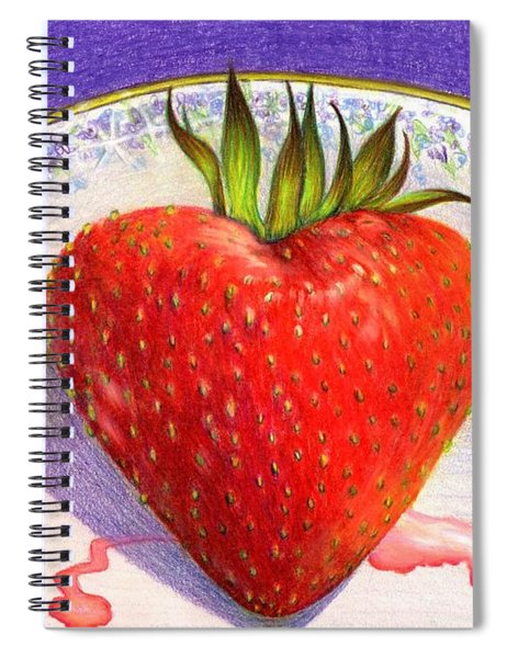 I Love You Berry Much Spiral Notebook