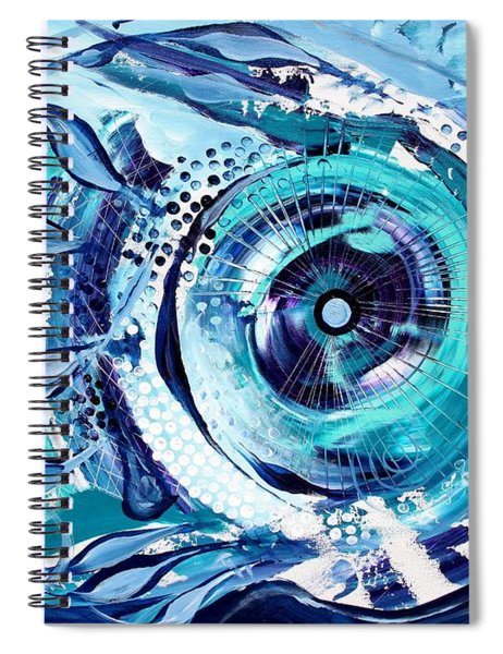Icehole Fish Spiral Notebook