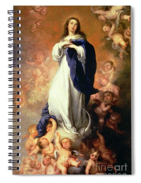 Immaculate Conception Of The Escorial Spiral Notebook