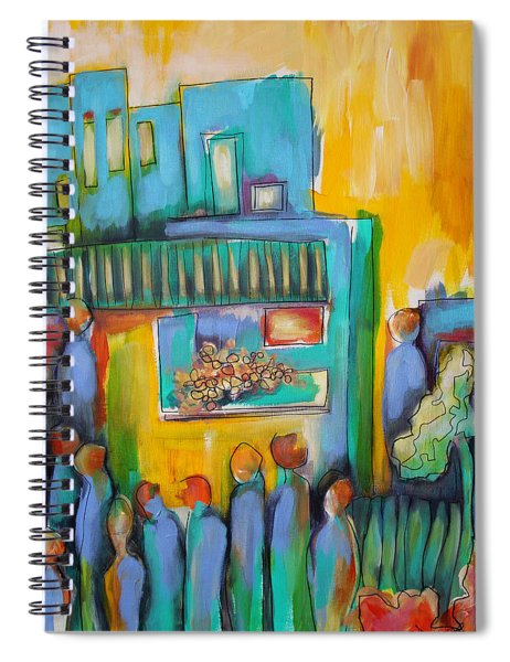In Passing Spiral Notebook