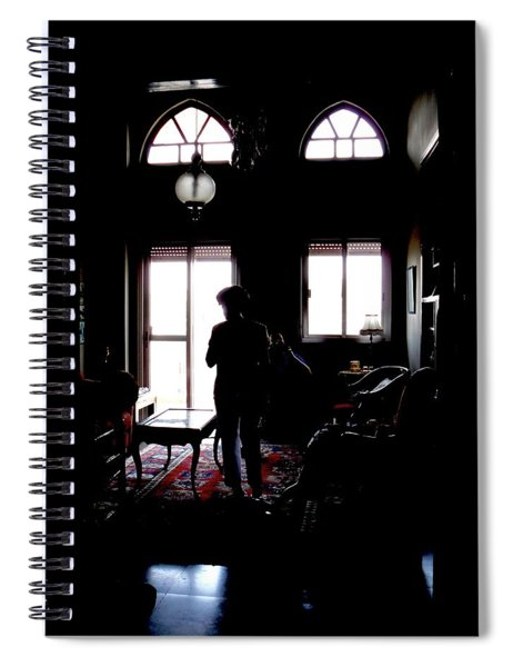 In The Shadows Spiral Notebook