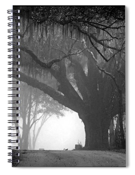In To The Unknown Spiral Notebook